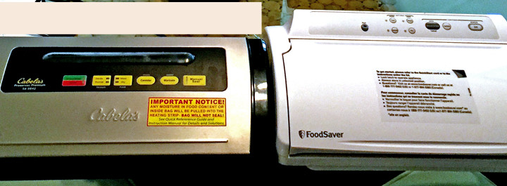 Foodsaver Gamesaver Deluxe vs. Cabela's  Preservac Premium Food Vacuum Sealer Review