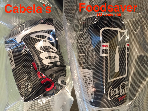 Cabela's CRUSHES the Old Foodsaver