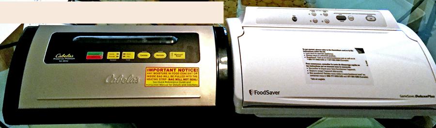 Cabela S Preservac Premium And Foodsaver Aver Food Vacuum Sealers Compared